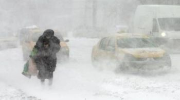 Cod GALBEN de ninsoare si ger in aproape toata tara. Harta zonelor afectate
