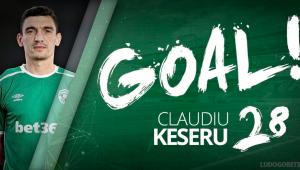 GOOOL Keseru! Romanul a marcat din nou o dubla in Bulgaria si a ajuns la 16 goluri in 22 de etape! Cum a inscris: VIDEO