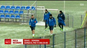 ISRAEL - ROMANIA, sambata 24 martie ora 20.00 la Pro TV // Surpriza pentru Contra la antrenamentul nationalei! Mutu a venit echipat si a facut SHOW
