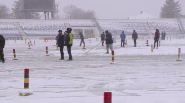 Sanse MINIME sa se joace CSM Poli Iasi - Astra de la 18.00! Cum arata stadionul din Iasi cu o ora inaintea meciului! VIDEO