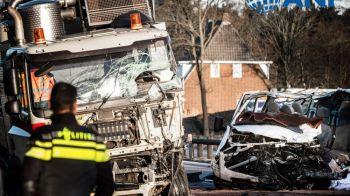 Accident cutremurator in Olanda. Cinci romani au murit, trei sunt in stare grava