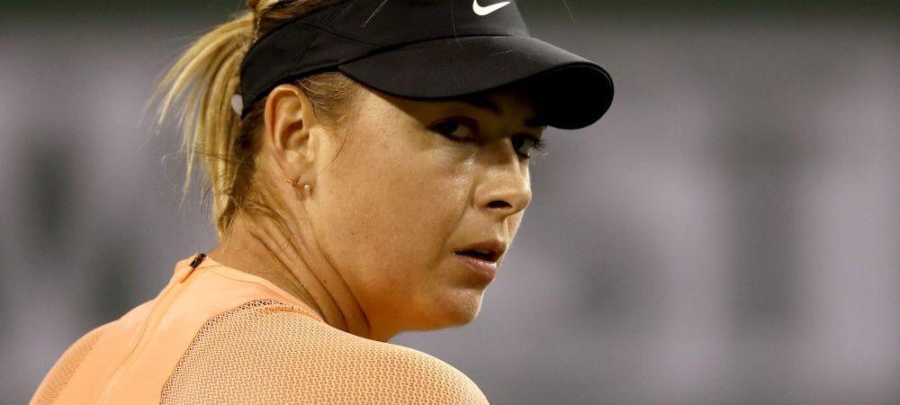 """""""Si-a dat seama ca se face de ras!"""" Decizia luata de Maria Sharapova dupa infrangerea de la Indian Wells"""