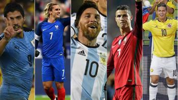 Dueluri de Mondial: Ronaldo vs Salah, Kroos vs Iniesta, Griezmann vs James. Top amicale de lux ce merita vazute