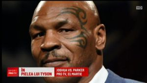 """L-a cunoscut pe Mike Tyson si si-a facut TATUAJ ca marele boxer: """"Este minunat sa ai un asemenea IDOL!"""""""
