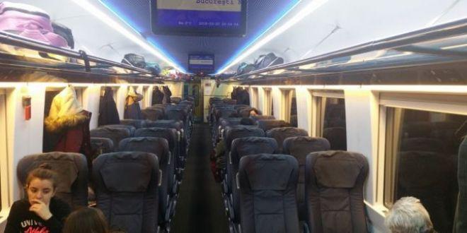 Trenul privat care strabate Romania si face senzatie: conditii de lux la preturi mai mici decat ale CFR
