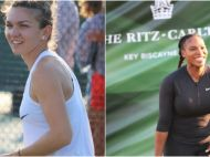 FOTO Reactia Serenei Williams dupa ce a LOVIT-O pe Simona Halep! Cele doua, dar si Darren Cahill si Nick Kyrgios, si-au unit fortele in scop nobil