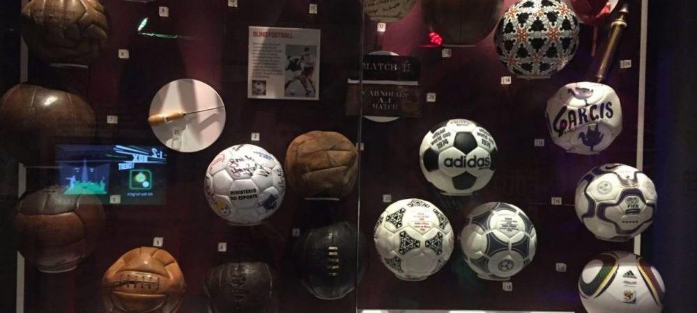 SPECIAL | In vizita la Muzeul Fotbalului! Locul in care Hagi isi are locul alaturi de Maradona si Pele: FOTO