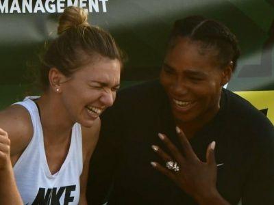 "IMAGINILE ZILEI   ""The beginning of a beautiful friendship"". Simona si Serena, intr-o ipostaza nemaivazuta"