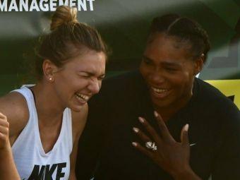 IMAGINILE ZILEI |  The beginning of a beautiful friendship . Simona si Serena, intr-o ipostaza nemaivazuta