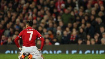 """Anunt BOMBA la Man United: Alexis s-a IZOLAT de colegi, clubul se teme sa nu fie o TEAPA! Reactia jucatorului: """"Ma asteptam la mult mai mult!"""""""
