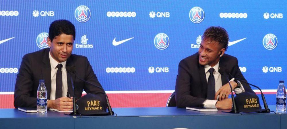 Neymar le-a transmis celor de la Paris Saint-Germain CONDITIA sa nu plece la Real Madrid! Pe cine vrea antrenor