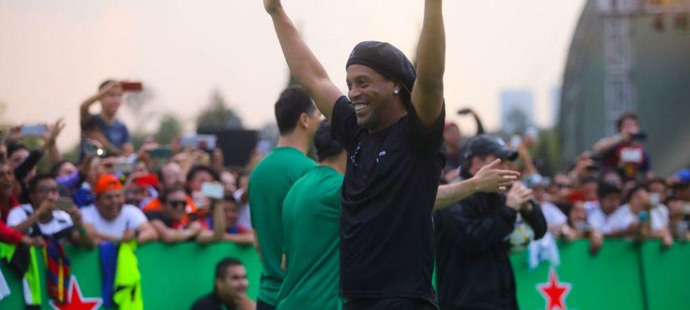 """Cea mai neasteptata decizie luata de Ronaldinho! Si-a schimbat cariera: """"Sunt bucuros ca pot ajuta Brazilia!"""""""