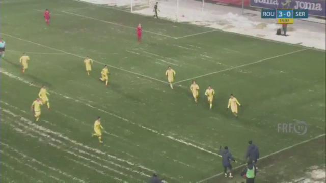 Romania U19 - Serbia U19 - Baluta face 3-0