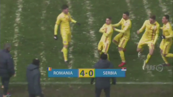 """""""Suntem pe drumul cel bun, deocamdata nu am realizat mare lucru!"""" Ce a spus selectionerul Adrian Boingiu dupa ce Romania U19 a demolat Serbia U19"""