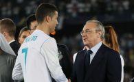 """Florentino Perez a vorbit in premiera despre plecarea lui Cristiano Ronaldo in China: """"Cand rezultatele nu sunt grozave..."""""""