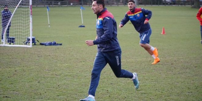 Radoi s-a antrenat de ziua lui cot la cot cu Ianis, Coman si Nedelcu! Meciul nationalei de tineret, LIVE pe www.sport.ro