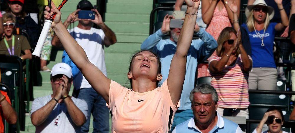 """""""Racheta s-a dus! A fost un moment bun pentru mine!"""" Explicatia Simonei dupa ce a dat cu racheta de pamant! Ce a spus despre meciul cu Radwanska si despre Serena Williams"""