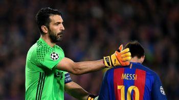 """Raspunsul PERFECT dat de Buffon cand a fost intrebat: """"Care e mai bun: Leo Messi sau Cristiano Ronaldo?"""" Ce spune inaintea marelui RAZBOI din sferturile Ligii"""