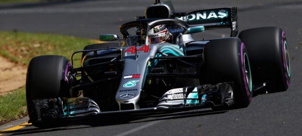Lewis Hamilton, start lansat la Melbourne! A fost cel mai rapid pilot din antrenamente! Pe cat a terminat Vettel