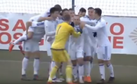 Golul fabulos care ii da emotii nationalei U21! Romania a fost egalata in clasament de Bosnia, dupa victoria de azi: VIDEO