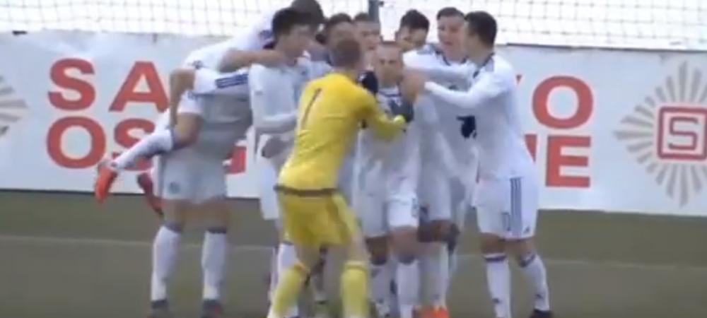 Golul fabulos care ii da emotii nationalei U21! Romania a fost egalata in clasament de Bosnia, dupa victoria de azi: VIDEO
