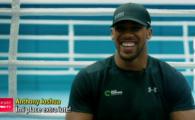 """Dieta monstruoasa a lui Joshua inaintea meciului anului in box, contra lui Parker: """"O sa te mananc si pe tine"""""""