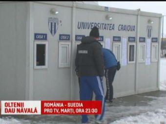 Urmeaza saptamana mare pentru olteni: meciul Romaniei si derby-ul cu CFR pe stadionul Craiovei! Romania - Suedia, marti, 21:30, la ProTV
