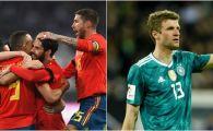 Batalia ultimelor doua campioane mondiale, incheiata la egalitate! Spectacol in Germania 1-1 Spania | REZUMAT VIDEO