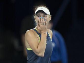 Soc total! Wozniacki, campioana de la Australian Open, eliminata azi-noapte de la Miami de numarul 82 mondial
