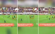 """""""GLONTUL UMAN"""". Cel mai rapid fotbalist din lume ar putea oricand sa concureze cu Usain Bolt! Faza incredibila: VIDEO"""