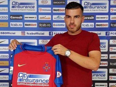 Debut surpriza la Steaua! Dica i-a dat minute in amicalul de la Chiajna macedoneanului adus pe 500 euro lunar