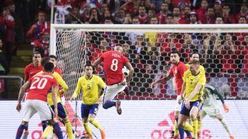 Suedia, batuta de Chile acasa, dupa un meci cu doua goluri fabuloase   Romania - Suedia e marti seara, de la 21:30, la ProTV