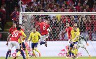 Suedia, batuta de Chile acasa, dupa un meci cu doua goluri fabuloase | Romania - Suedia e marti seara, de la 21:30, la ProTV
