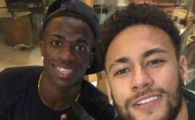 Viitori colegi? Surpriza! Alaturi de ce jucator al Realului s-a fotografiat Neymar in Brazilia