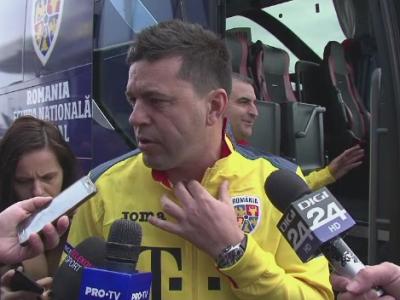 """Jucatorii nationalei au aflat de moartea lui Tilihoi in drum spre Craiova: """"O sa ii dedicam victoria de marti!"""" ROMANIA - SUEDIA, in direct la PRO TV"""
