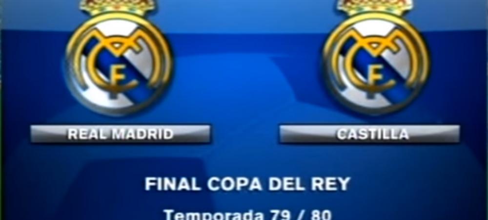 TRUE STORY: Anul in care Real Madrid a jucat finala Cupei Spaniei impotriva lui Real Madrid. Cine a castigat :)