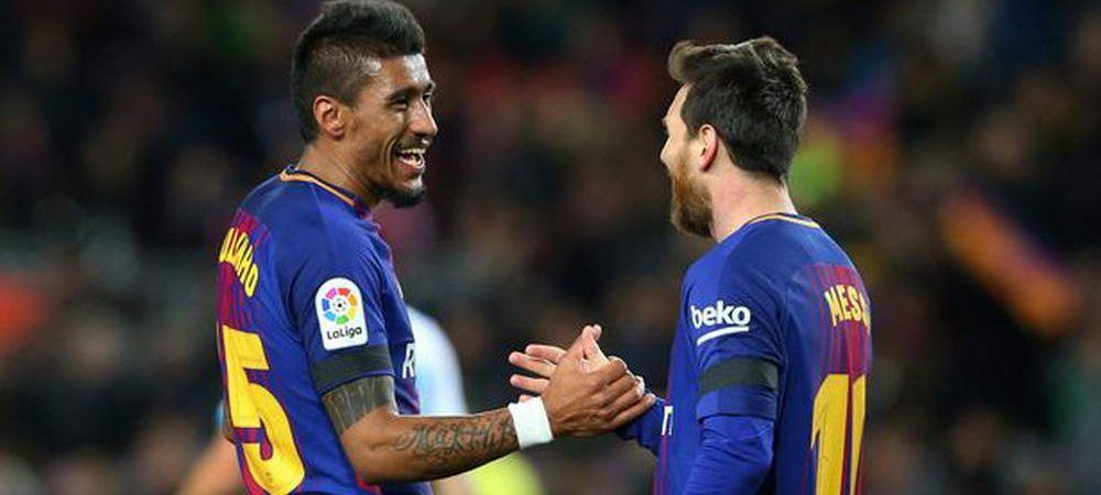 Messi a facut un transfer PE TEREN, in timpul meciului! Cele 7 cuvinte magice cu care si-a convins adversarul!