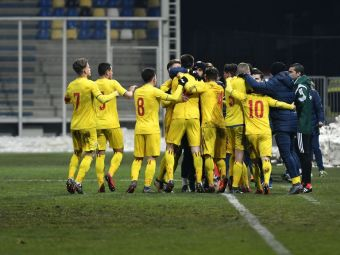Romania U19 - Ucraina U19, marti, IN DIRECT LA PROX, ora 19:00! La un pas de calificare: un egal ne duce la Campionatul European