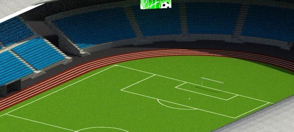 FOTO   Un nou stadion ultramodern in Romania! Va avea 19.000 de locuri si va costa 17 milioane de euro