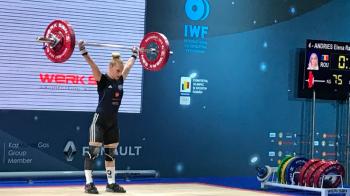 Performanta senzationala! Elena Andries, tripla campioana europeana! Romanca a dominat concursul la categoria 48 kg