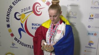 FOTO | Cum arata mainile unei triple campioane europene! La 48 de kilograme, Elena Andries a mutat MUNTI pana acum