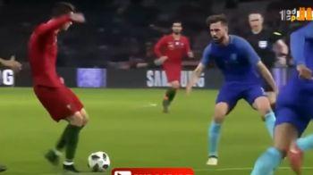 """VIDEO GENIAL! Cristiano Ronaldo a """"reusit"""" una dintre cele mai ridicole faze din cariera! A urlat la arbitru dupa o simulare evidenta"""