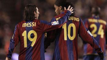 """Ronaldinho distruge cel mai mare MIT despre relatia cu Messi: """"Sunt doar minciuni! Stiam de atunci ca va fi mai bun ca mine!"""""""