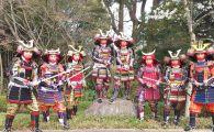GALERIE FOTO: Luptatoarele Romaniei, imbracate in samurai! Fetele au mers pentru prima data la un campionat mondial