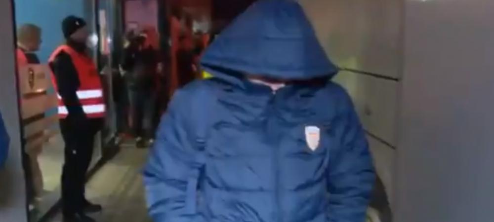 VIDEO | Morutan nu a stiut cum sa se ascunda dupa infrangerea dramatica a Romaniei U19. Cum a plecat de la stadion