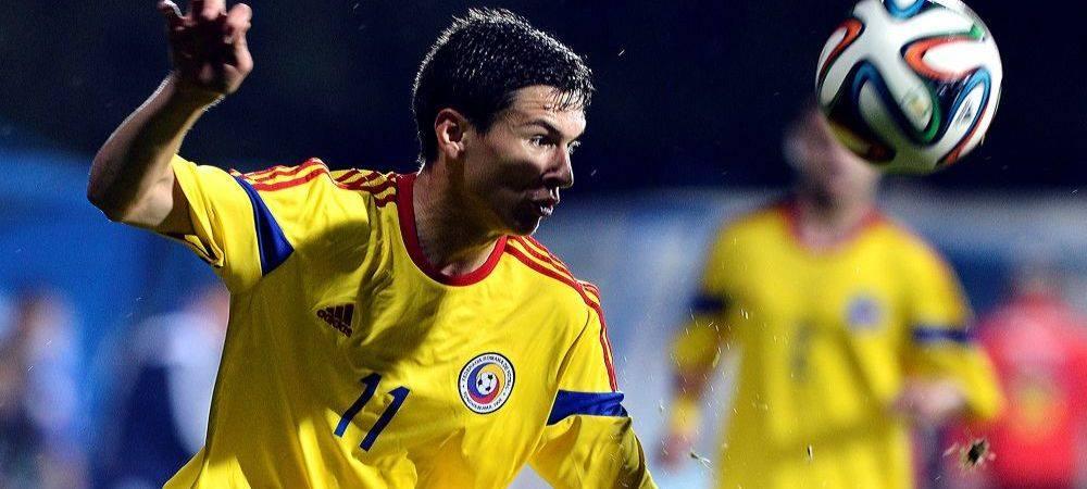 """Reactia lui Rotariu dupa supergolul cu Suedia, primul pentru el la nationala: """"E maret sa bati echipa care a invins Italia! Asteptam meciurile oficiale"""""""