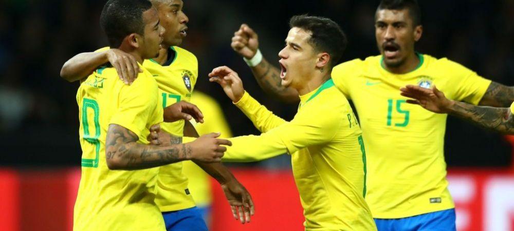 """Era o chestiune de mandrie!"" Brazilienii si-au luat revansa in fata Germaniei, dupa 1-7 la Mondial. VIDEO"