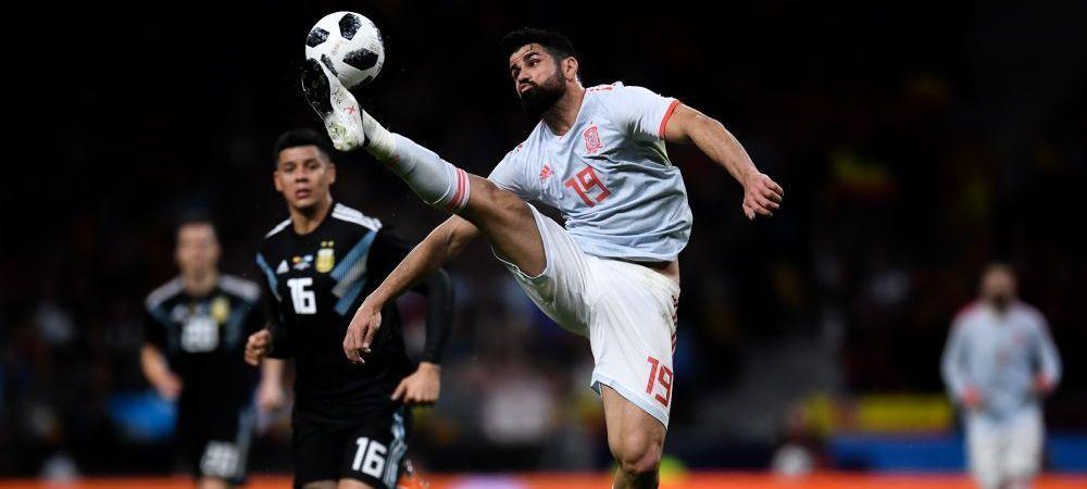 """Cea mai mare UMILINTA pentru argentinieni a venit dupa meci! Mesajul DUR al lui Diego Costa: """"Sa-i multumiti lui Dumnezeu!"""""""