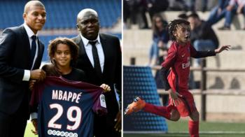 Kylian Mbappe a costat-o 180 de milioane pe PSG, dar fratele sau se anunta a fi si mai tare! Pustiul a debutat cu gol