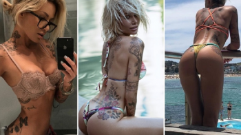 """GALERIE FOTO // 20 de imagini HOT cu """"regina fitness-ului"""": 2 milioane de urmaritori pe Instagram"""